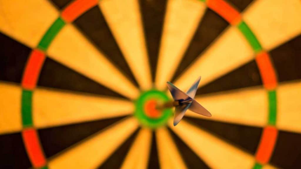 sermon series bullseye target dart