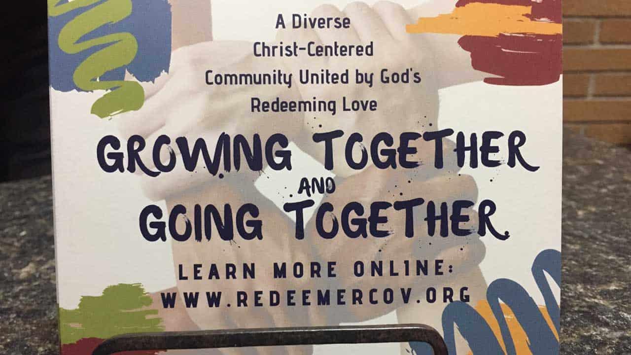 Sunday church invitation and website